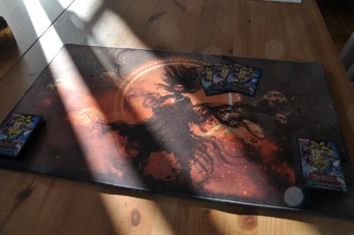 Playmat Cursed Wizzard (Jetzt mit FOIL Zonen) photo review