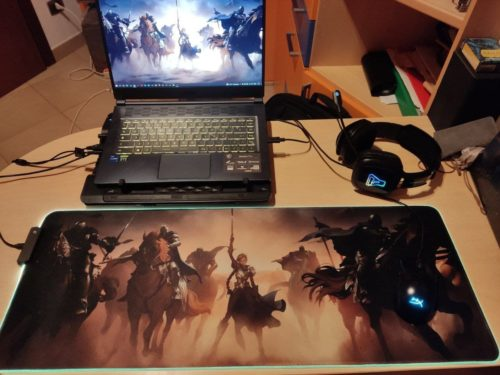 Custom LED Gaming Mouse Pad photo review